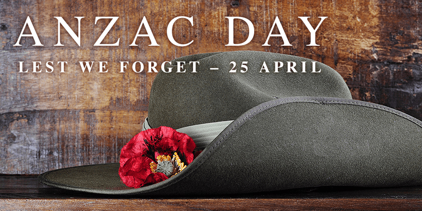 Anzac Day Ceremony – Apr 25
